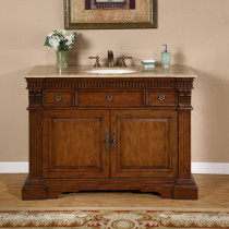 Bianca (single) 48-Inch Traditional Bathroom Vanity