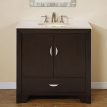 Lisbon (single) 36-Inch Transitional Bathroom Vanity