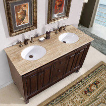 Barbosa (double) 55-Inch Transitional Bathroom Vanity