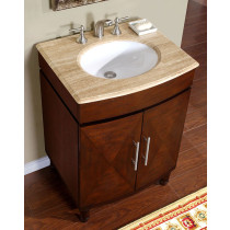Dixie (single) 26-inch Transitional Bathroom Vanity
