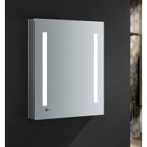 Fresca Tiempo 24x30-Inch Medicine Cabinet with LED Lighting & Defogger - Left