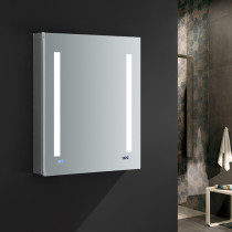 Fresca Tiempo 24x30-Inch Medicine Cabinet with LED Lighting & Defogger - Right