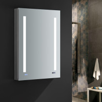 Fresca Tiempo 24x36-Inch Medicine Cabinet with LED Lighting & Defogger - Right