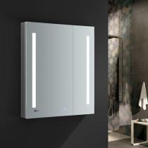 Fresca Tiempo 30x36-Inch Medicine Cabinet with LED Lighting & Defogger