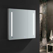 Fresca Tiempo 36x36-Inch Medicine Cabinet with LED Lighting & Defogger