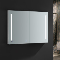 Fresca Tiempo 48x36-Inch Medicine Cabinet with LED Lighting & Defogger