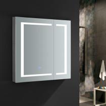Fresca Spazio 30x30-Inch Medicine Cabinet with LED Lighting & Defogger