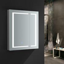 Fresca Spazio 30x36-Inch Medicine Cabinet with LED Lighting & Defogger