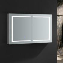 Fresca Spazio 48x30-Inch Medicine Cabinet with LED Lighting & Defogger