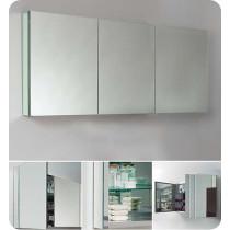 Fresca FMC8019 59-Inch Bathroom Mirrored Medicine Cabinet