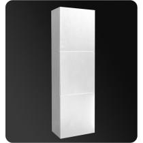 Fresca 17.8-Inch White Wall-Mount Bathroom Linen Side Cabinet
