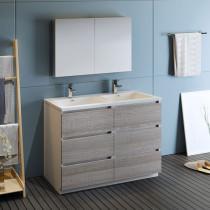 Double Bathroom Vanities 47 to 56-Inches Wide