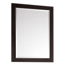 Avanity Hepburn 24-Inch Dark Chocolate Modern Bathroom Mirror