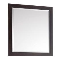 Avanity Hepburn 28-Inch Dark Chocolate Modern Bathroom Mirror