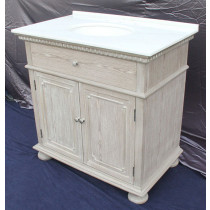 Holbrook (single) 36-Inch Whitewash Transitional Bathroom Vanity