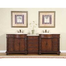 Pearce (double) 90-Inch Modular Bathroom Vanity