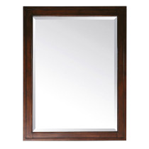 Avanity Madison 24-Inch Tobacco Traditional Bathroom Mirror