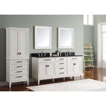 Avanity Madison (double) 73-Inch White Vanity Cabinet & Optional Countertops