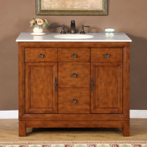 Pasadena (single) 42-inch Traditional Bathroom Vanity