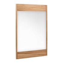 Avanity Teak 24.2-Inch Natural Teak Modern Bathroom Mirror