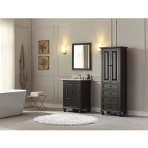 Avanity Thompson (single) 25-Inch Charcoal Glaze Vanity Cabinet & Optional Countertops
