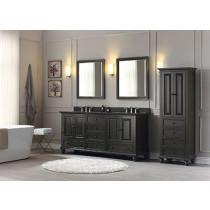 Avanity Thompson (double) 73-Inch Charcoal Glaze Vanity Cabinet & Optional Countertops