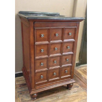Landrum (single) 24-Inch Walnut Traditional Bathroom Vanity