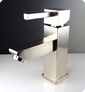 Fresca Versa FFT1030BN Brushed Nickel Single Hole Bathroom Faucet