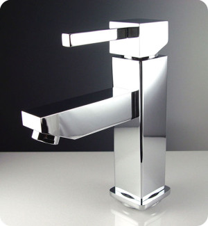 Fresca Bevera FFT1030CH Chrome Single Hole Bathroom Faucet