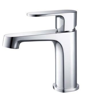 Fresca Gravina FFT9131CH Chrome Single Hole Bathroom Faucet