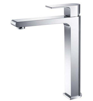 Fresca Allaro FFT9152CH Chrome Single Hole Vessel Bathroom Faucet