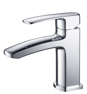Fresca Fiora FFT9161CH Chrome Single Hole Bathroom Faucet
