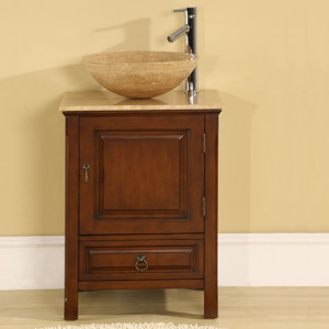 Versailles (single) 22-Inch Transitional Bathroom Vanity
