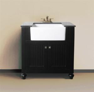 Melendy (single) 30-Inch Espresso Modern Bathroom Vanity