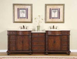 Pearce (double) 90-Inch Modular Bathroom Vanity