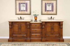 Gloria (double) 95-Inch Modular Bathroom Vanity