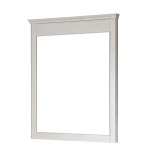 Avanity Windsor 30-Inch White Transitional Bathroom Mirror