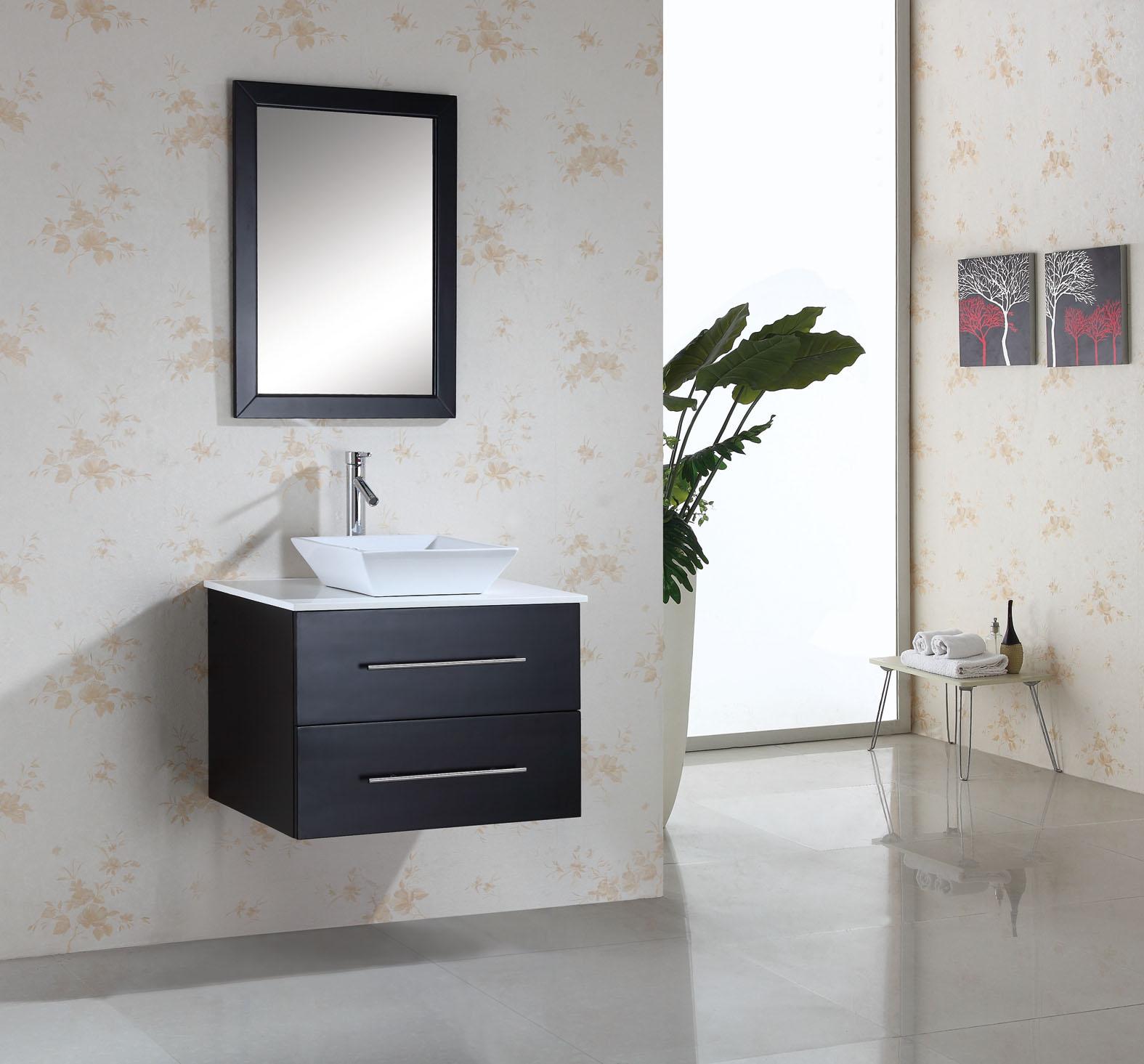 wall mounted single sink bathroom vanities on sale - Wall Mount Bathroom Vanity