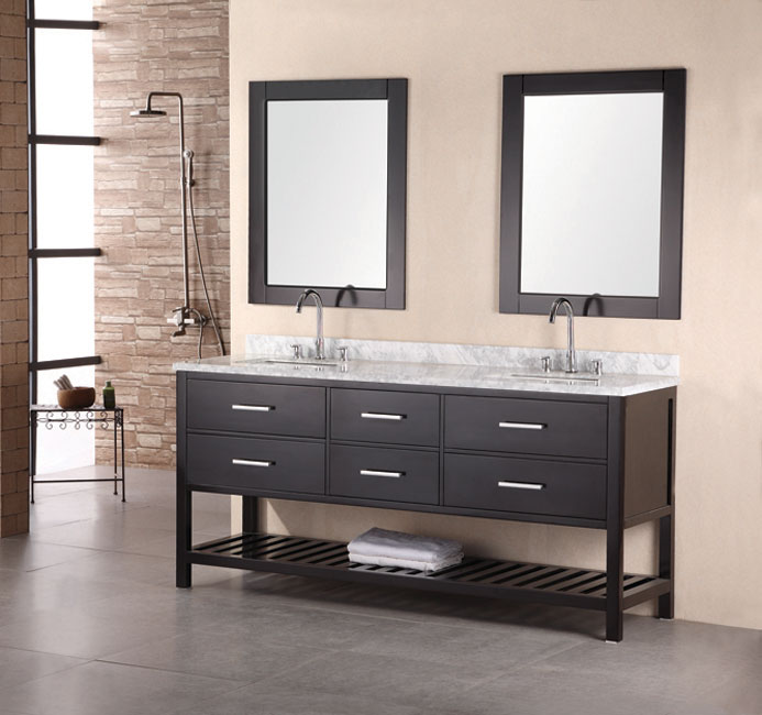 Double Sink Bathroom Cabinets.  Double Bathroom Vanities 72 to 90 Inches