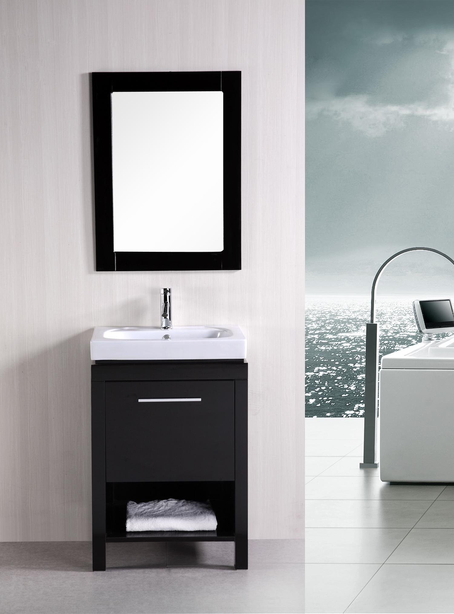Design Element New York (single) 24-Inch Modern Bathroom Vanity Set ...
