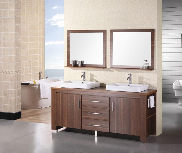 66 Inch Double Sink Vanity.  Double Bathroom Vanities 65 to 72 Inches Wide